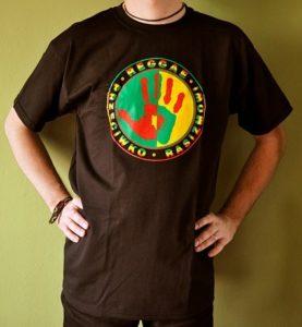 Koszulka męska Reggae Przeciwko rasizmowi