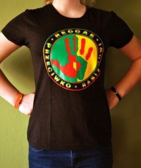 Koszulka damska Reggae Przeciwko Rasizmowi