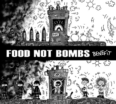 FOOD NOT BOMBS benefit