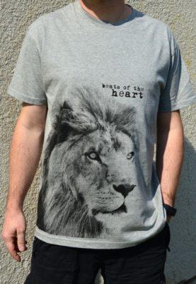 best of the heart koszulka szara