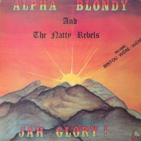 "ALPHA BLONDY ""Jah Glory"""