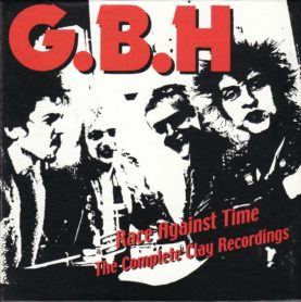"""G.B.H. """"Race Against Time - The Complete Clay Recordings"""""""