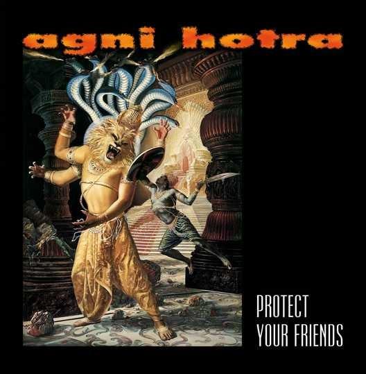 "AGNI HOTRA ""Protect Your Friends"" niebieska"