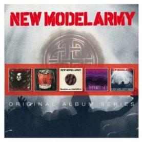 "NEW MODEL ARMY ""Original album series"" box 5CD"