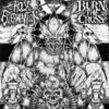 BURN THE CROSS / HOLY EXTERMINATION - split EP