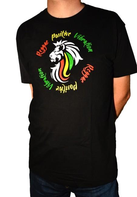 Reggae Positive Vibration koszulka męska