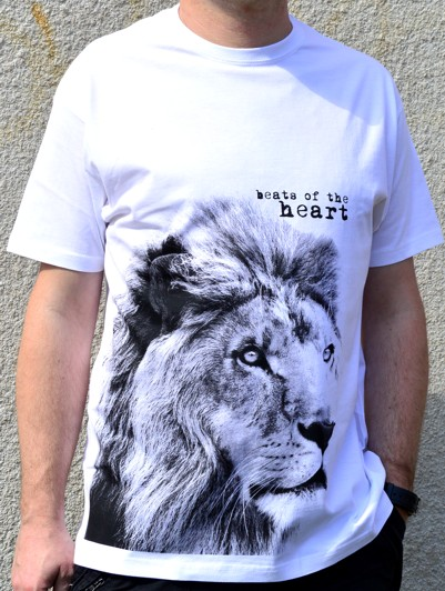 best of the heart koszulka biała