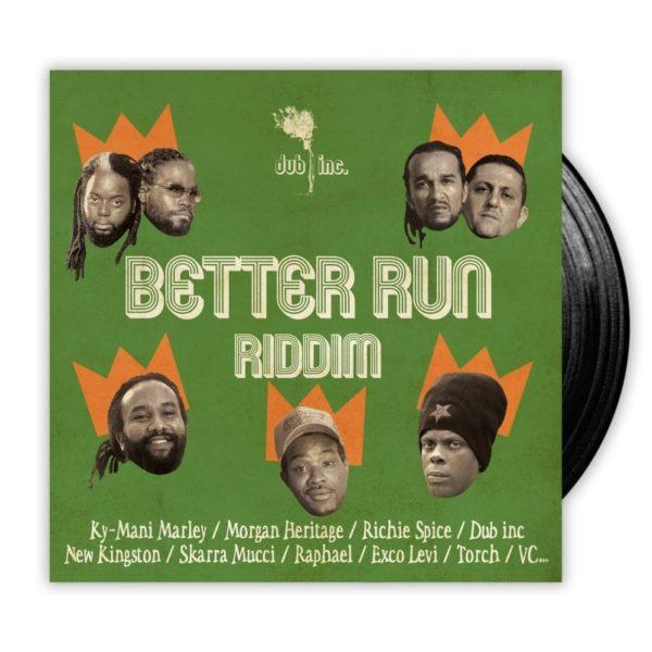 "DUB INC. ""Better run riddim"" 4xEP"
