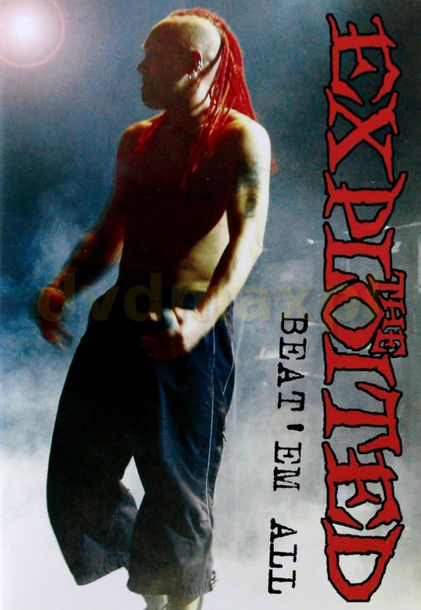 """THE EXPLOITED """"Beat'em all"""""""