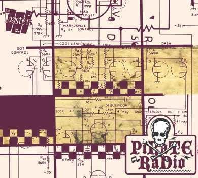 "THE TOASTERS ""Pirate Radio"""