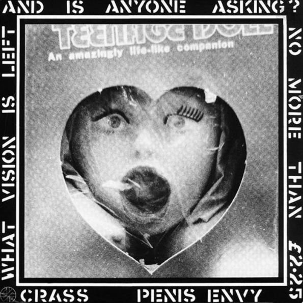 "CRASS ""Penis envy"""