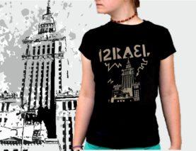 IZRAEL koszulka damska